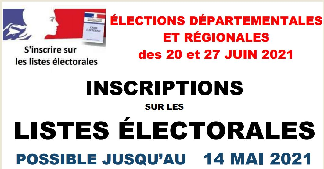 ELECTIONS INSCRIP 14 MAI
